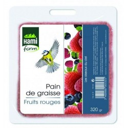 Pain graisse fruits rouge...