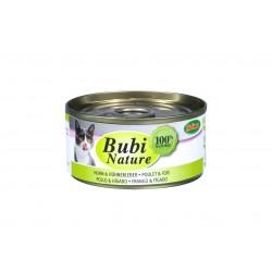Bubi nature Poulet & Foie 70g