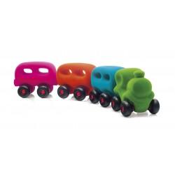 Train avec 3 wagons...