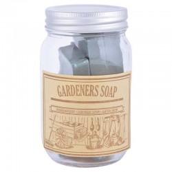 Savons de jardin en bocal
