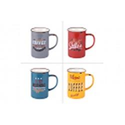 Coffret 4 mugs ht vintage...